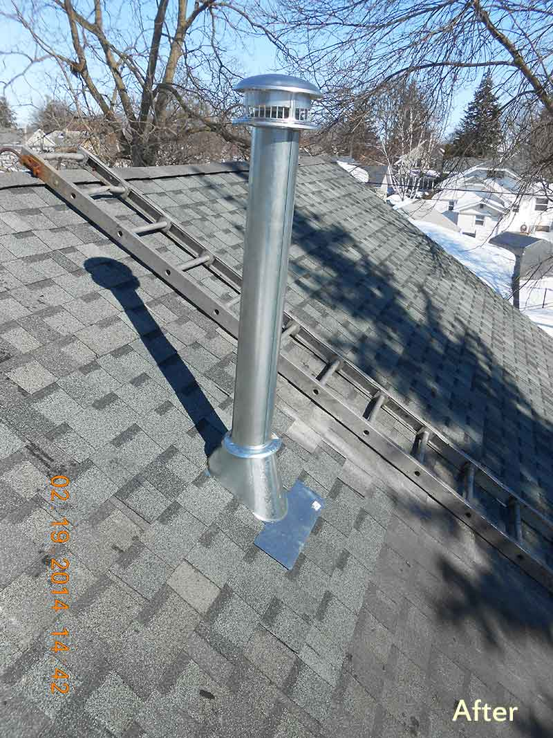 professional chimney services including chimney sweeping
