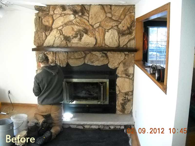 Fireplace Design fireplace insert installation : Professional Chimney Services including: Chimney Sweeping ...